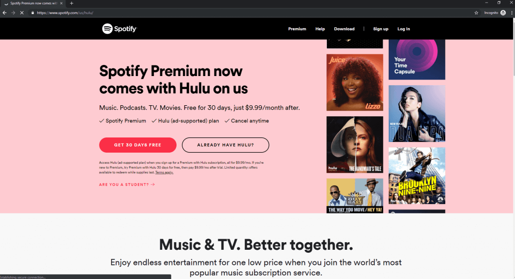 buying-Spotify-with-VPN-from-US-IP-address