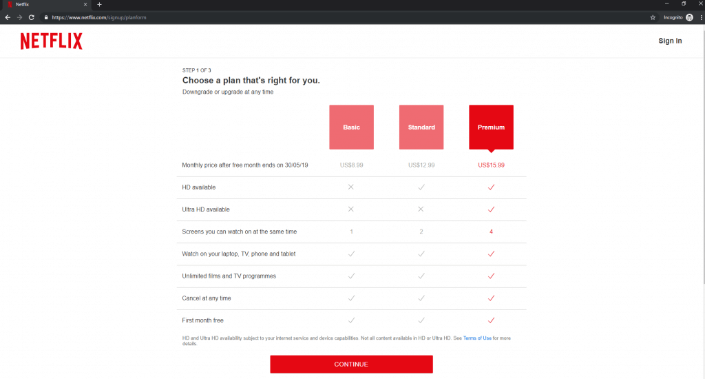 netflix subscription without vpn from us