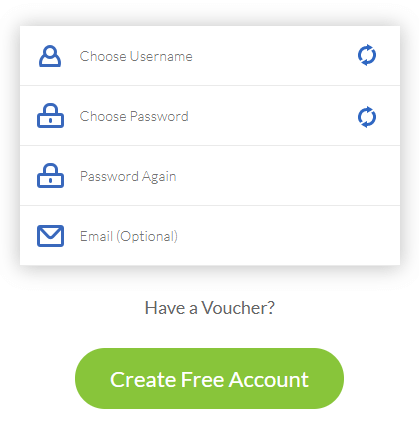 create free windscribe account