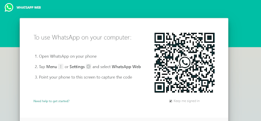 whatsapp on computer